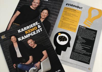 Karriere, Kemo og Kampgejst - profilbrochure