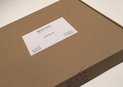 LuxusBoxen, Emballagedesign og udvikling